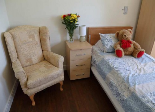 Bedroom Facilities, The Old Rectory Care Home, Senior Care in Swanage