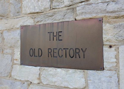The Old Rectory Sign, Dementia Care Homes