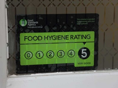Food Standards Agency, Grade 5, The Old Rectory, Senior Care in Swanage