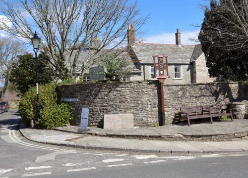 Outside The Old Rectory, Residential Care Facility in Swanage