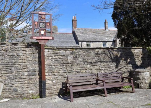 Langton Matravers Bench