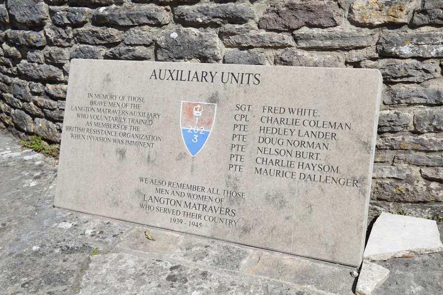 Auxiliary Units, Langton Matravers Plaque