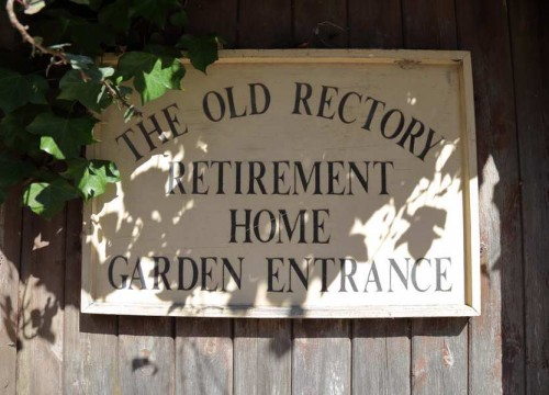 The Old Rectory Garden Entrance, Private Care Homes in Swanage