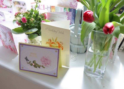 Birthday Cards, Residential Care in Swanage