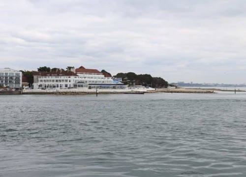 Views from the Ferry on the Way to Swanage